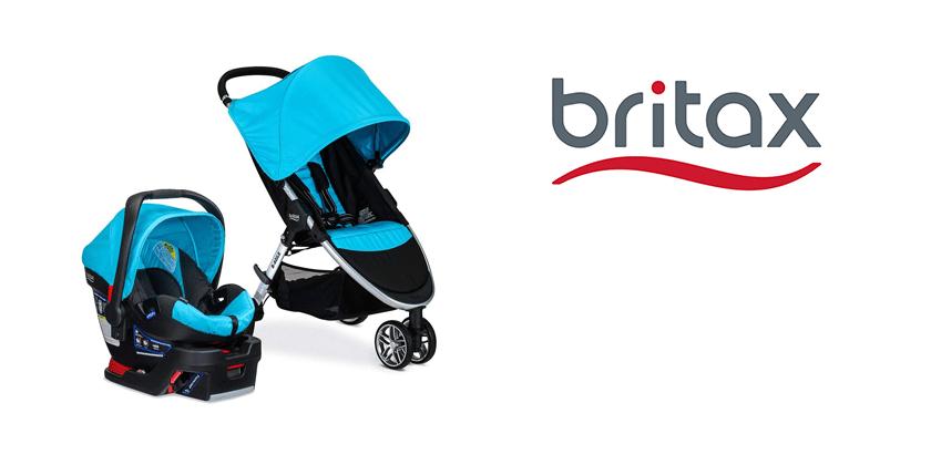 Britax 2017 B Agile & B Safe 35 Travel System