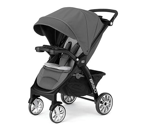 Chicco Bravo Stroller - Black