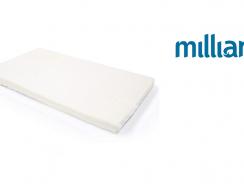 Milliard Mini-Crib Memory Foam Mattress
