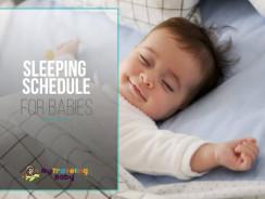 Sleeping Schedule for Babies
